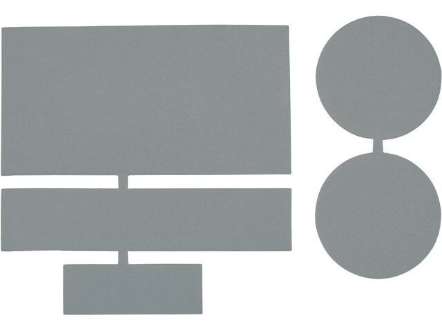 CAMPZ Pièces de réparation en nylon 5 pièces, grey